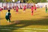 Liga 1 Putri -- Tim Persipura-Tolikara kalahkan Persebaya Surabaya 3-1