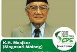 Pemerintah anugerahi KH Masjkur gelar Pahlawan Nasional