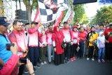 18 ribu peserta ikuti jalan santai pada peringatan HUT Sulsel