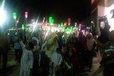 Peringati Maulid Nabi warga Bandarlampung menggelar pawai keliling