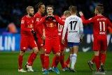 Leipzig  melaju ke peringkat kedua setelah taklukkan Hertha
