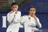 Liga Spanyol -- Real Madrid lumat Eibar menuju puncak klasemen