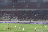 Babak pertama, Timnas U-19 Indonesia  tertinggal 0-1 dari Korut