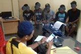 Polisi ringkus lima terduga narkoba di salah satu Mess Pemda di Palu