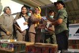 Balai Karantina Bandarlampung lepasliarkan 3.092 burung tangkapan