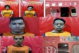 Polisi ringkus lima buruh di Banjarmasin edarkan narkoba
