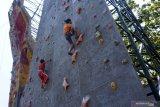 Atlet panjat tebing Lahat  persembahkan emas Porprov