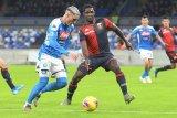 Napoli gagal raih poin penuh saat jamu Bologna