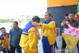 Di Hari Pahlawan, Gubernur sambut pejuang olahraga Riau juara umum Porwil X