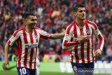 Atletico Madrid menelan skor imbang kedelapan musim ini