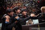 Tim China bungkam Eropa untuk juarai League of  Legends World Cup