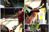 Kurangi kecelakaan, HK bagikan kopi kepada pengguna tol