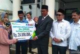 BP-Jamsostek serahkan santunan kepada keluarga almarhum Wali Nagari