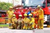 Pahlawan masa kini, Tim Damkar PT CPI siap dan tanggap saat darurat