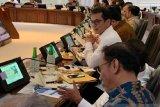 Presiden Joko Widodo pimpin rapat terbatas di Kantor Presiden Jakarta