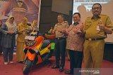 Riau luncurkan Samsat Tanjak dengan motor warna-warninya