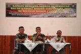 Kodim 1709/Yawa gelar komunikasi sosial dengan Pemkab Waropen