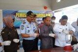 BNN Baubau musnahkan 103 saset sabu-sabu milik sopir angkot