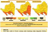 BMKG prakirakan terjadi hujan lokal sejumlah wilayah di Lampung