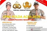 Polda Aceh buka penerimaan CPNS