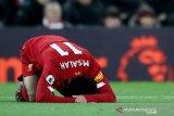 Salah tidak dibawa Mesir untuk dua pertandingan karena alami cedera