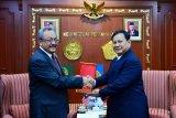 Menhan terima kunjungan kehormatan Dubes Malaysia