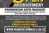 Bawaslu Manado mulai buka penerimaan Panwascam