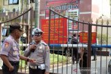 Bom Medan, Densus dan Polda Sumut lakukan olah TKP ledakan di Polrestabes Medan