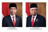 Foto Resmi Presiden dan Wakil Presiden RI 2019-2024