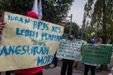 Unjuk rasa menolak kenaikan BPJS