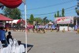 Tarian kebangsaan warnai perayaan HUT Brimob di Kupang