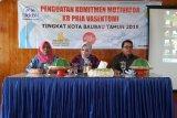 BKKBN Sultra gelar penguatan Komitmen Motivator KB Pria di Baubau