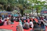 Jalan Santai dan Diskusi Ringan, Mahasiswa Unand Ajak Masyarakat Kenali Sejarah Kota Tua Padang (Video)