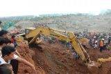 Kecelakaan kerja, sejumlah pekerja masih tertimbun di kawasan tambang