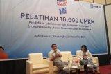400 pelaku UKM di Sumbar dibekali pelatihan manajemen keuangan hingga IT