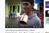 Pelaku bom bunuh diri di Medan buat parodi liputan banjir di YouTube