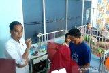 Presiden Joko Widodo tinjau RSUD Abdul Moeloek