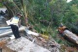 Truk CPO masuk jurang sedalam 30 meter di Bukit Pulai Pesisir Selatan