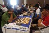 Tim catur Babel menang di putaran 3 dan 4 Pornas Korpri XV