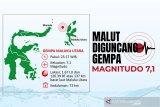 Kekuatan gempa di Maluku setara 30-40 kali bom atom Hiroshima
