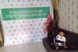 Pengunjung rumah singgah pasien Dompet Dhuafa Singgalang meningkat selama 2019