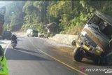 Kecelakaan Truk CPO Kembali Terjadi di Bukit Pulai Batang Kapas