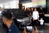 Jokowi tengok cucu di Rumah Sakit PKU Muhammadiyah