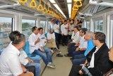 Menhub tinjau LRT Sumsel pastikan layanan membaik
