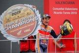 Marquez akhiri musim 2019 dengan sempurna di Valencia