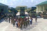 Pangdam Bukit Barisan tinjau  Roket Astros di Teluk Beton Natuna