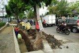 DPU Bandarlampung bersihkan siring antisipasi banjir