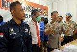 Polres Palu amankan seorang warga pemilik senpi ilegal