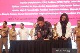 Gubernur Sumsel  serahkan DIPA kabupaten kota
