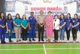 Polda Sulut gelar aksi peduli kemanusiaan donor darah